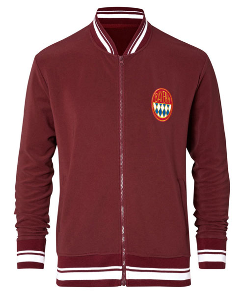 Vintage international club and country football track tops