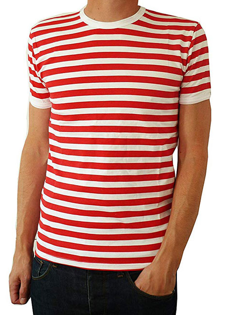 Fuzzdandy vintage-style striped t-shirts