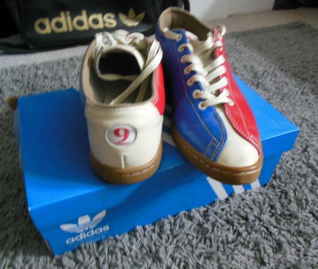 Adidas X Jeremy Scott bowling shoes on eBay