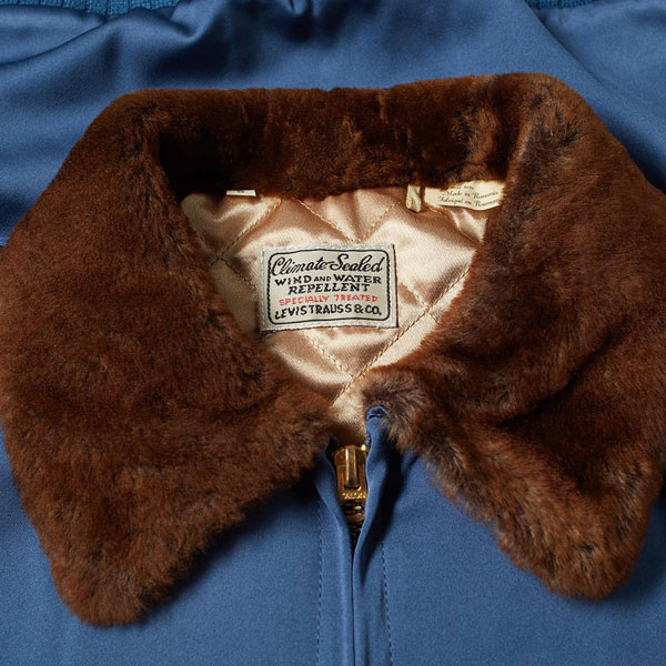 Sheepskin collar jacket by Levi's Vintage Clothing