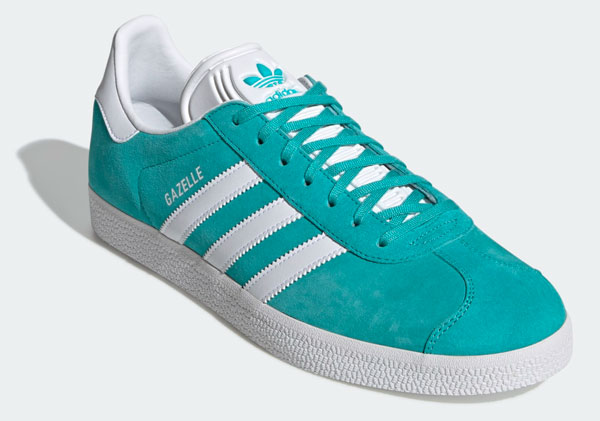 New colours: Adidas Gazelle trainers