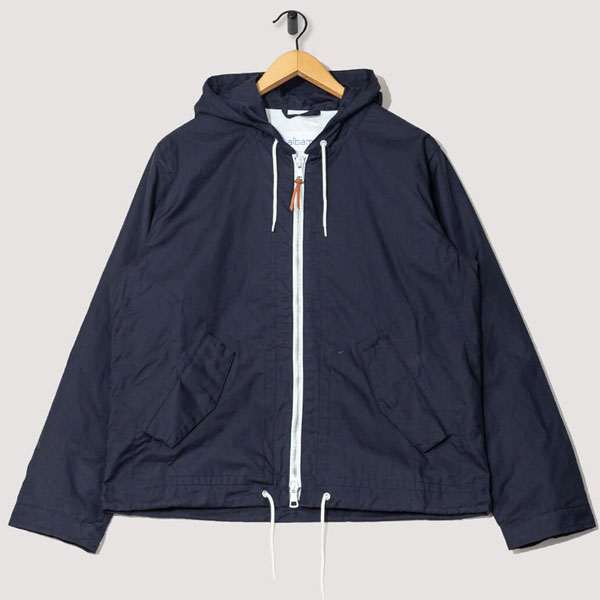 Classic rainwear: Johnston anorak by Albam