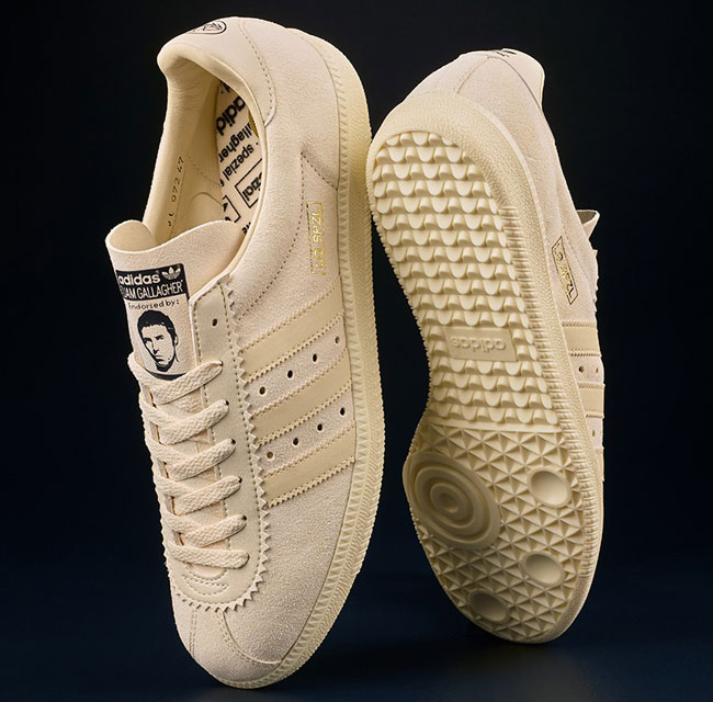 Adidas x Liam Gallagher Padiham LG SPZL trainers