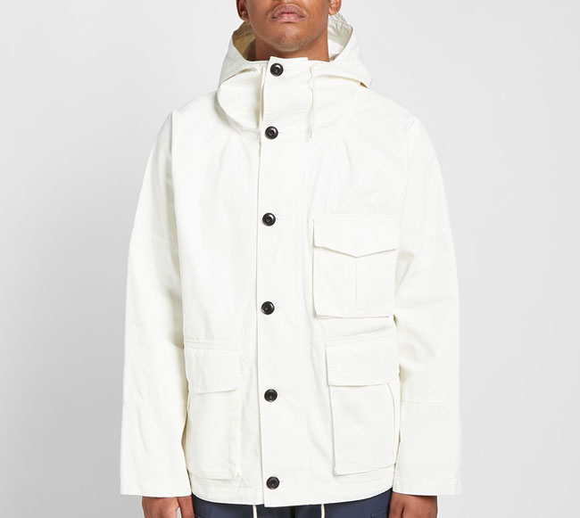 Keep the rain out with the Albam Military Parka
