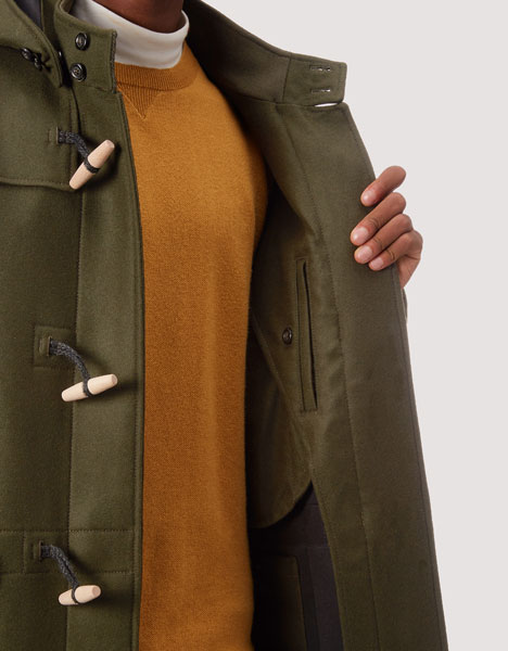Baracuta Montgomery duffle coat launches