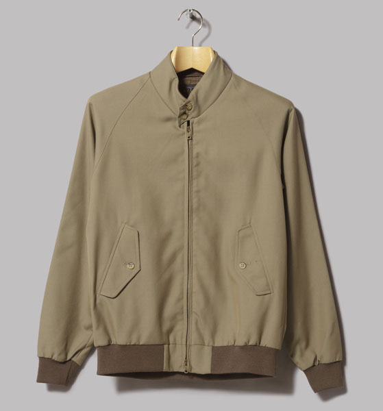 Wool harrington jacket by Beams Plus