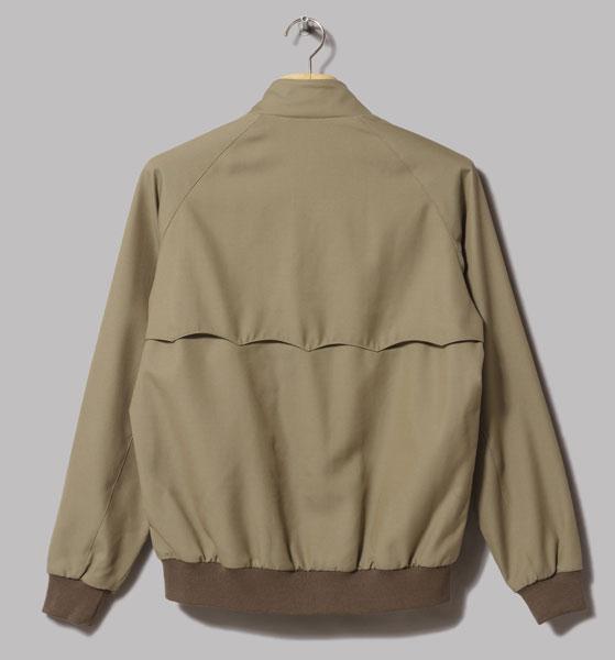 Wool harrington jacket by Beams Plus