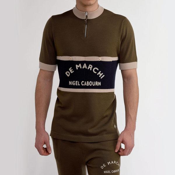 Discounted: Nigel Cabourn x De Marchi cycling range