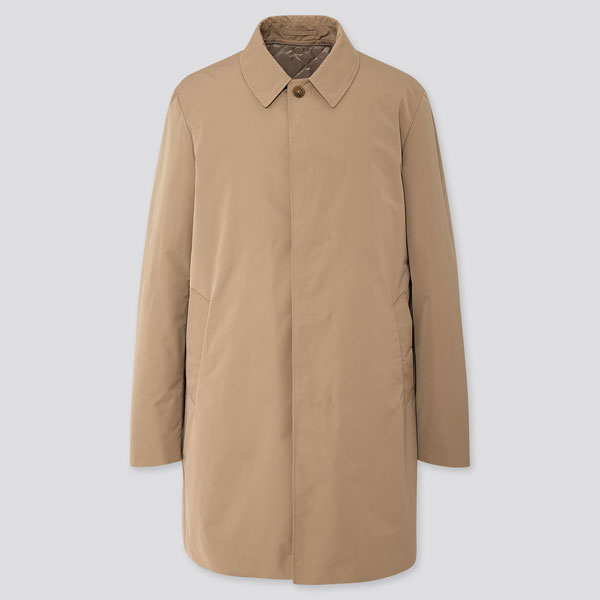 Classic single breasted raincoat at Uniqlo