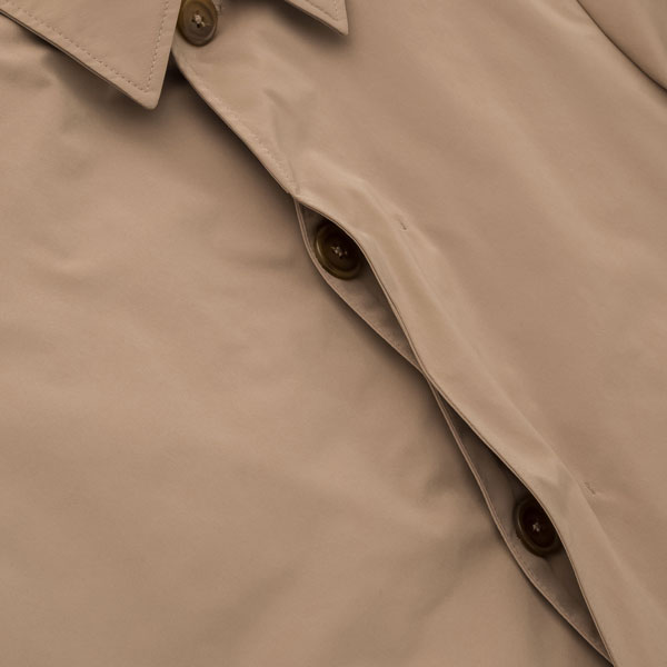 Classic single breasted raincoat at Uniqlo