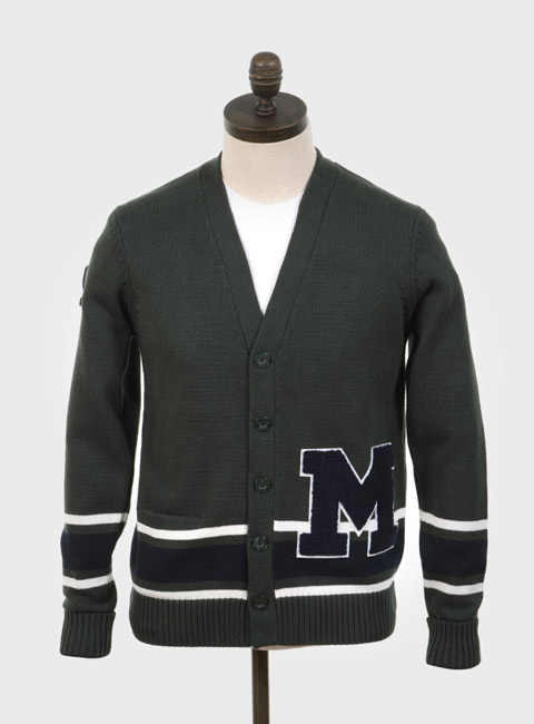 Mumper Letterman-style cardigan by Art Gallery Clothing