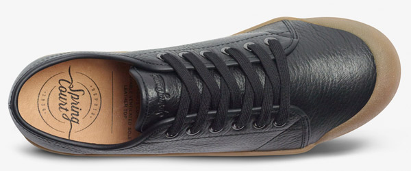 Spring Court G2 plimsolls in Nappa leather