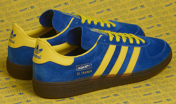 Size? reissues 1970s Adidas Baltic Cup trainers