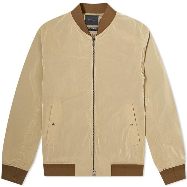 10. Edifice nylon bomber jacket