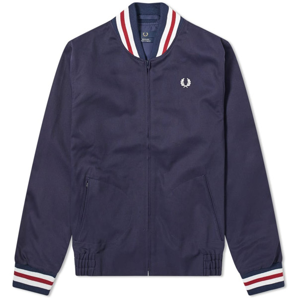 2. Fred Perry Reissues tennis bomber jacket
