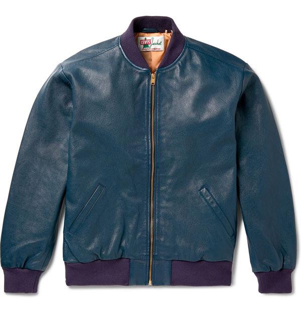 3. 1950s leather bomber jacket by Levi's Vintage Clothing
