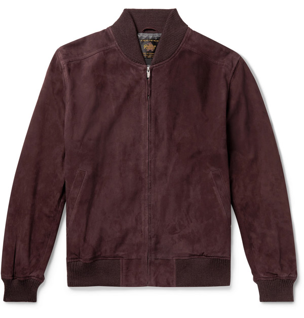 5. Toland suede bomber jacket by Golden Bear
