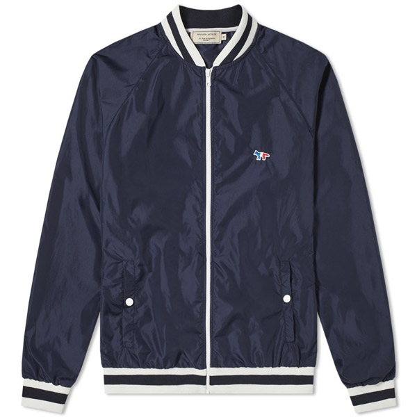 6. Maison Kitsune Tricolour Fox bomber jacket