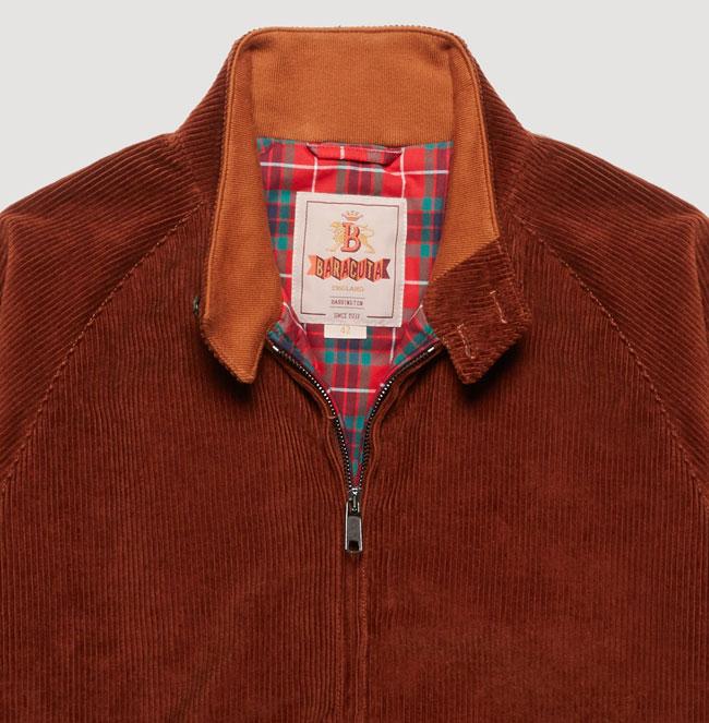 Baracuta G9 corduroy Harrington Jacket