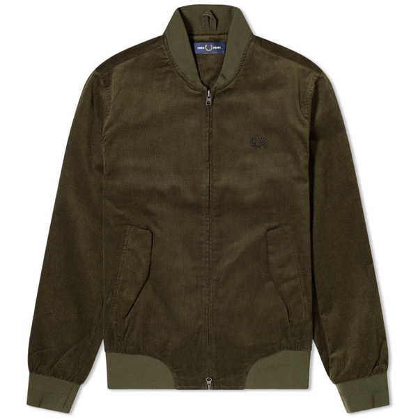 8. Fred Perry cord bomber jacket