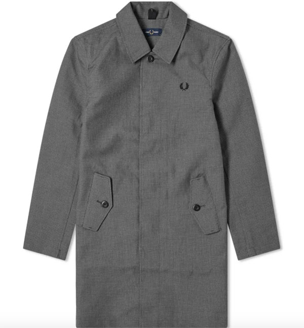 Fred Perry Authentic Houndstooth Mac