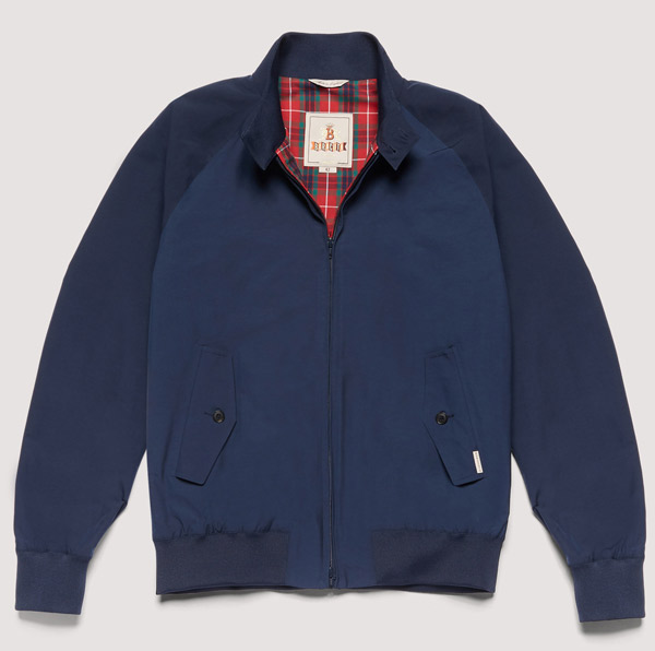 1. Baracuta G9 Harrington Jacket