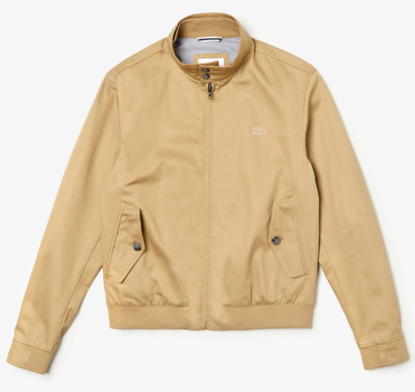 4. Lacoste Harrington Jacket