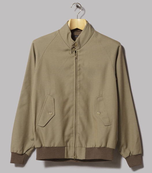 5. Beams Plus Wool Harrington Jacket