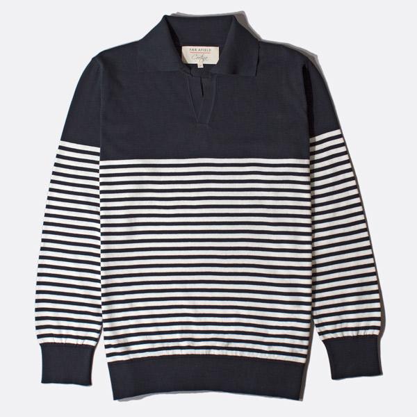 Far Afield x Craftsman Clothing Jimmy polo shirt