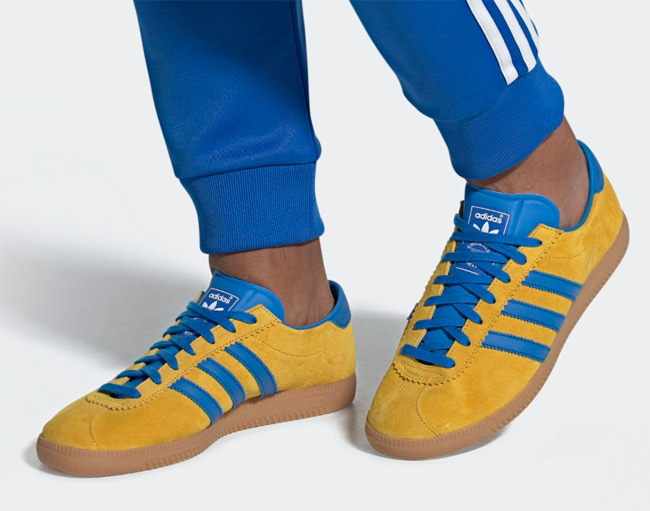 Out now: Adidas Malmo City Series trainers His Knibs