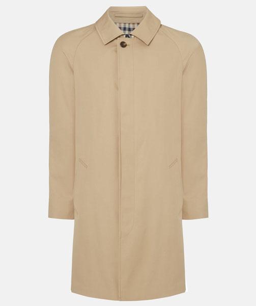 7. Aquascutum Sheerwater raincoat