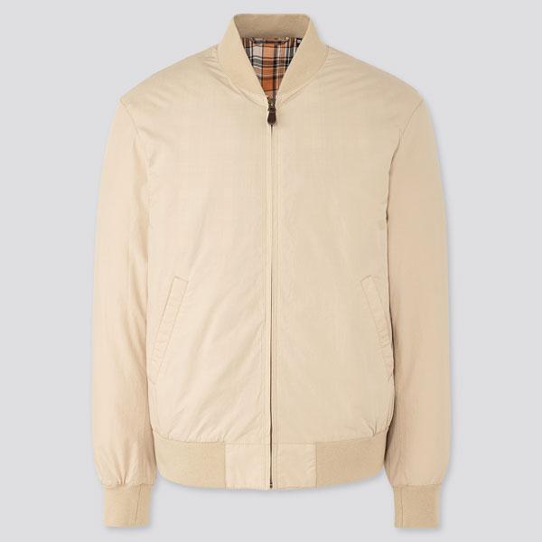 10. Uniqlo budget cotton bomber jacket