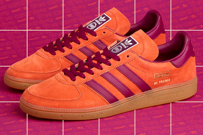 1970s Adidas Baltic Cup trainers return in orange