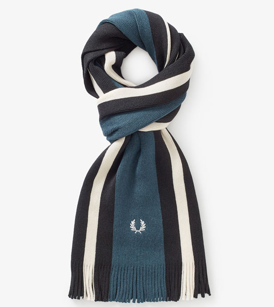 1. Fred Perry Merino wool scarves