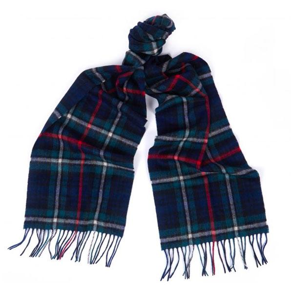4. Barbour classic tartan scarves