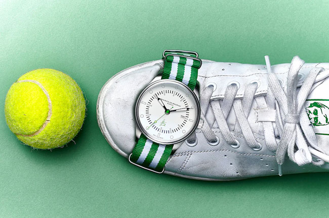Limited edition Stan Smith watch by Maurice de Mauriac