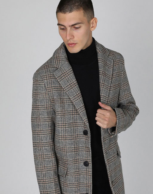 Bargain spotting: Budget wool blend Crombie coat at The Idle Man