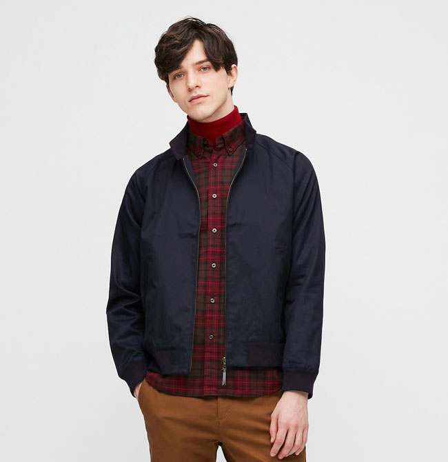 Uniqlo budget Harrington jacket back on the shelves