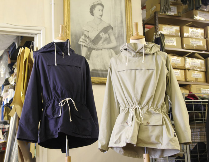 16. 10 of the best: Vintage-style smock anoraks