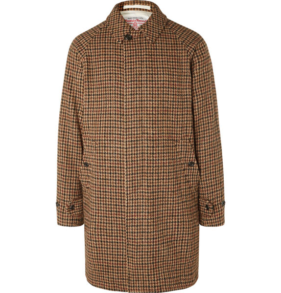 17. Beams Plus Harris Tweed wool overcoats