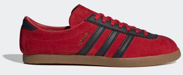 1. Adidas London City Series trainers