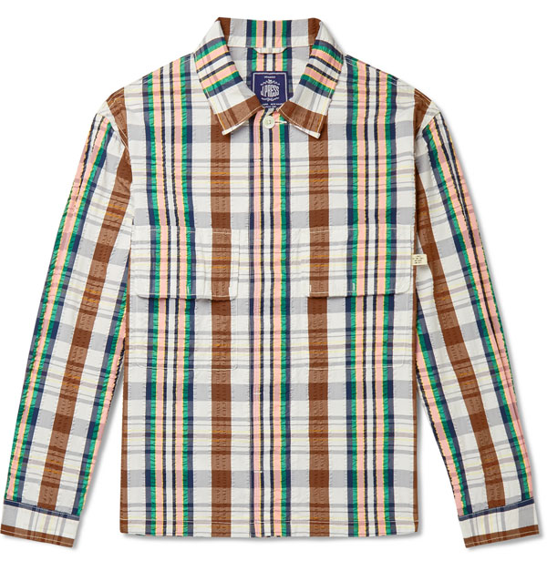 Lightweight shirt jackets by J. Press