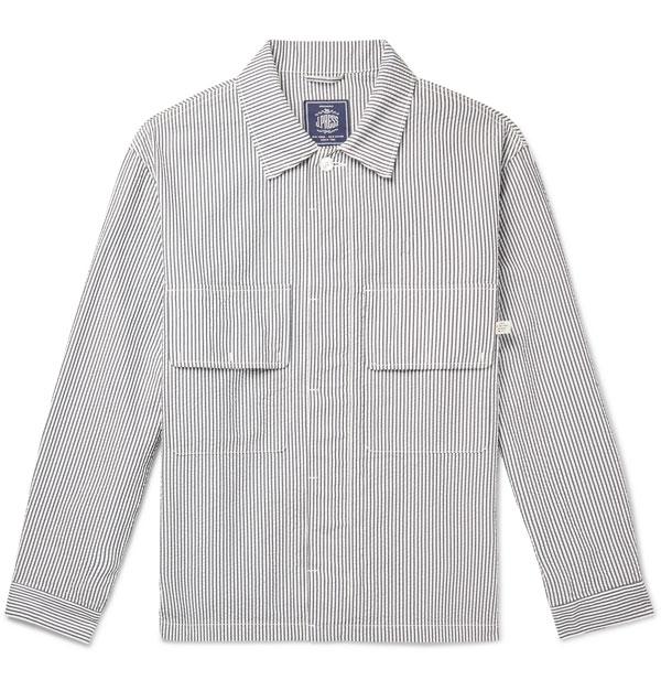 Lightweight shirt jackets by J. Press