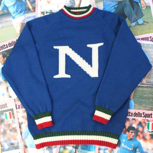 Limited edition Napoli sweater by Trickett