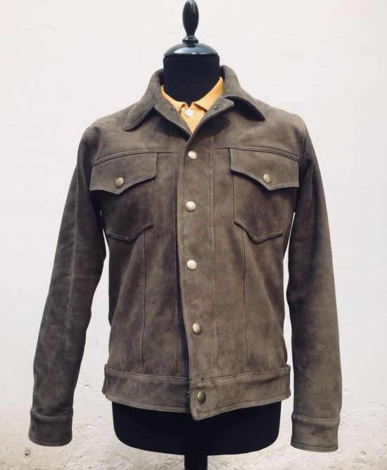3. Rider MK2 suede jacket by Connection