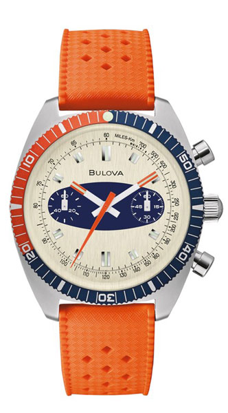 1970s Bulova Surfboard Chronograph watch return to the shelves