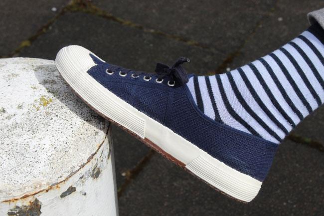 Vintage Italian naval deck shoes at Ham Yard Vintage