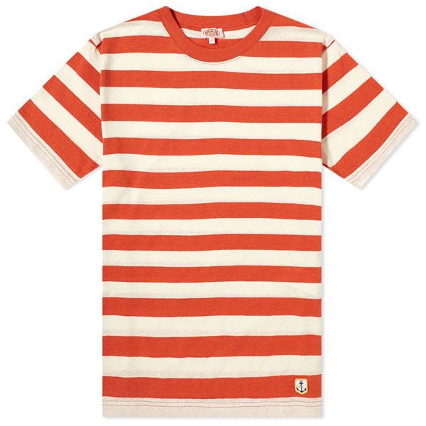 1. Armor-Lux wide stripe t-shirt