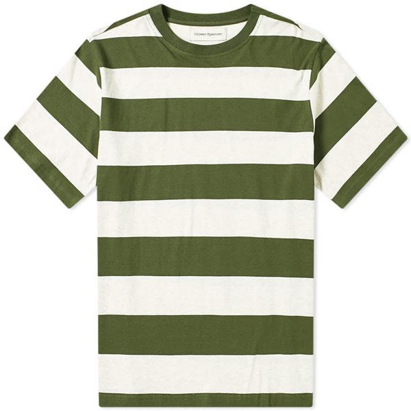 4. Oliver Spencer Paz bold stripe t-shirt
