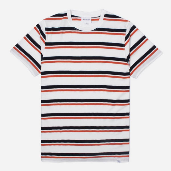 7. Norse Projects Niels stripe t-shirt